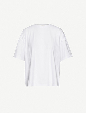 GEORGIA ALICE Round-neck cotton T-shirt