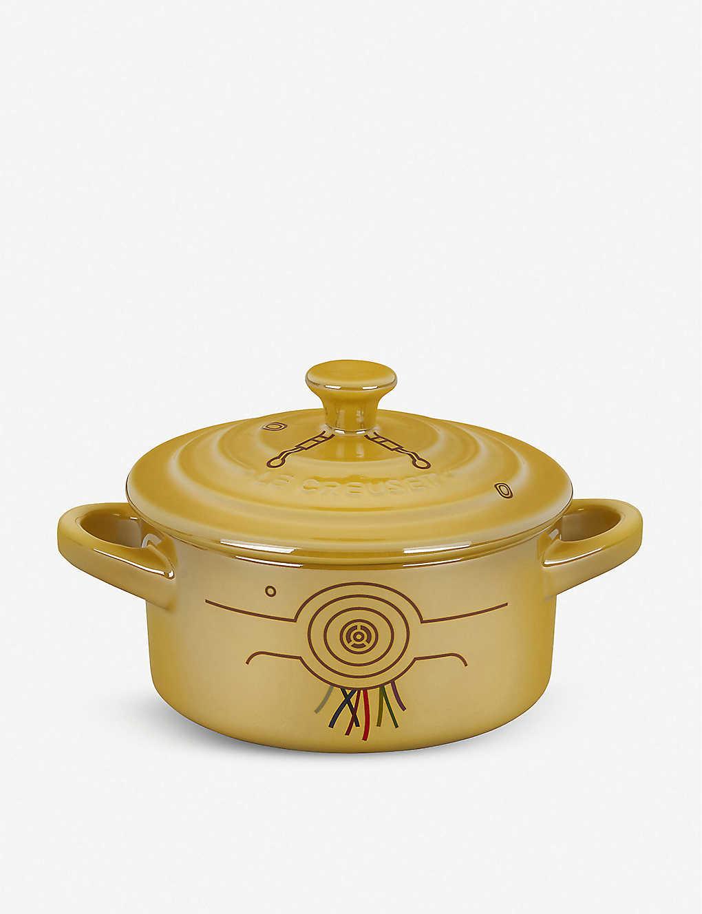 LE CREUSET: Le Creuset x Star Wars C-3PO stoneware cocotte dish 9cm