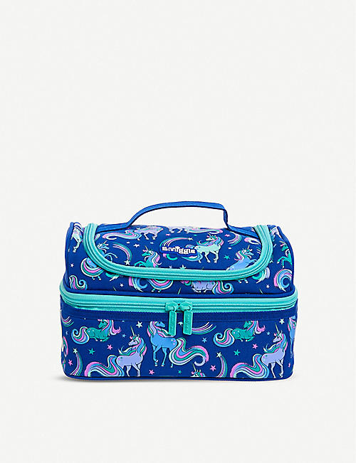 SMIGGLE Good Vibes Double Decker woven lunchbox