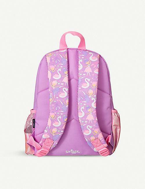 SMIGGLE Wander Junior graphic-print shell backpack