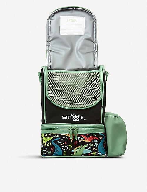 SMIGGLE Wander Junior Strap graphic-print shell lunchbox