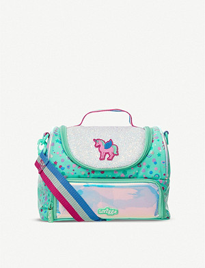 SMIGGLE Believe Double Decker woven lunchbox