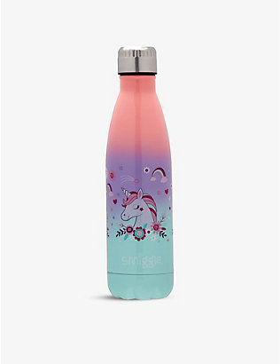 SMIGGLE: Wonder stainless steel bottle 500ml