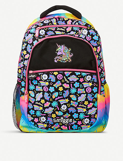 SMIGGLE Express graphic-print shell backpack