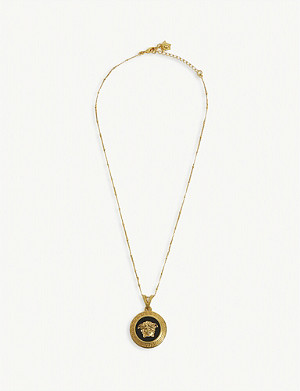 VERSACE Medusa-head gold-toned necklace