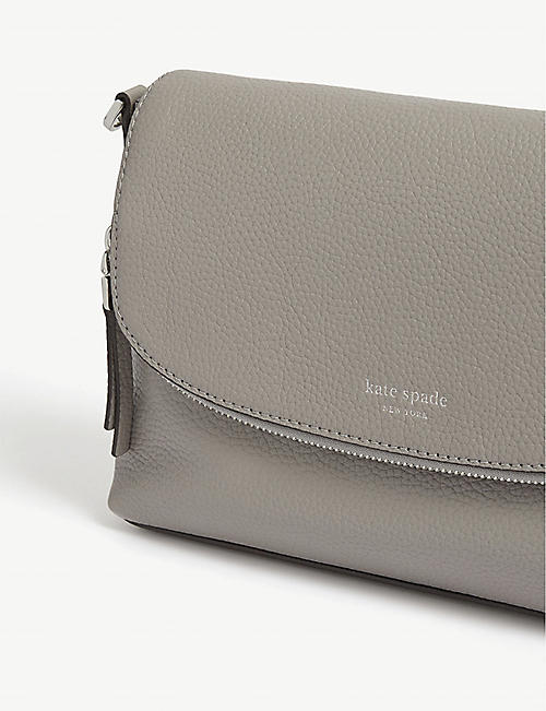 KATE SPADE NEW YORK Polly leather cross-body bag