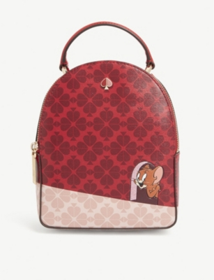 KATE SPADE NEW YORK Tom & Jerry mini convertible backpack