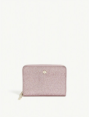 KATE SPADE NEW YORK Glitter card holder