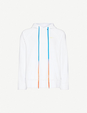 OFF-WHITE C/O VIRGIL ABLOH Logo-print cotton-jersey hoody