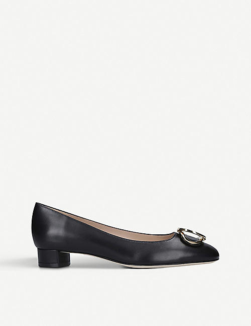 STUART WEITZMAN Anicia 25 leather courts