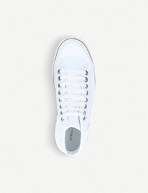STELLA MCCARTNEY Futeni organic cotton high-top trainers