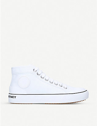 STELLA MCCARTNEY: Futeni organic cotton high-top trainers