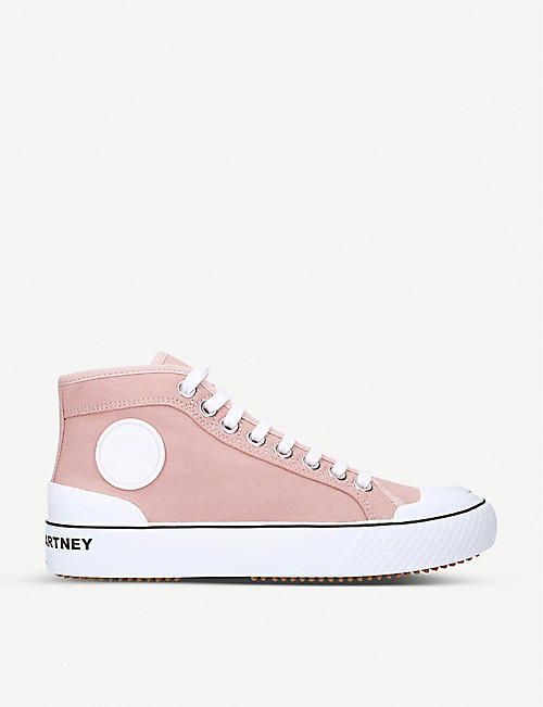 STELLA MCCARTNEY Futeni woven high-top trainers