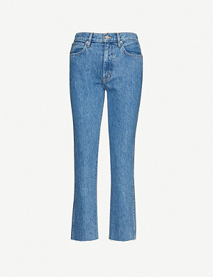 SLVRLAKE Hero straight high-rise jeans