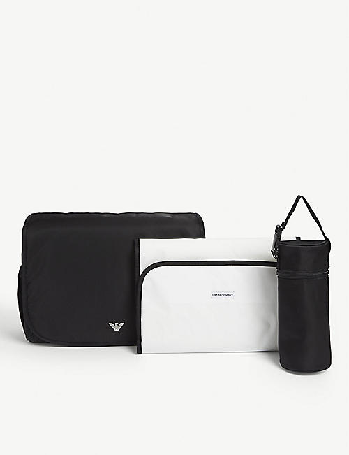EMPORIO ARMANI Logo changing bag
