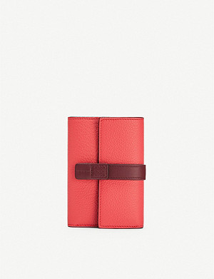 LOEWE Small Vertical leather wallet