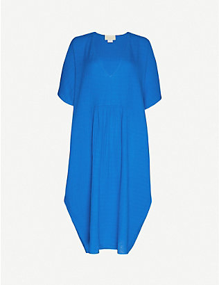 ANAAK: Rina cotton-knit maxi kaftan
