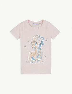 FABRIC FLAVOURS Frozen II Elsa cotton T-shirt 3-10 years