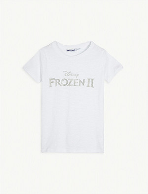 FABRIC FLAVOURS Disney Frozen II logo cotton T-shirt 3-10 years