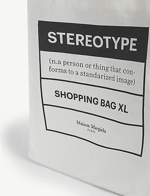 MAISON MARGIELA Stereotype large tote bag
