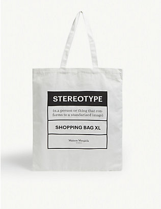 MAISON MARGIELA: Stereotype large tote bag