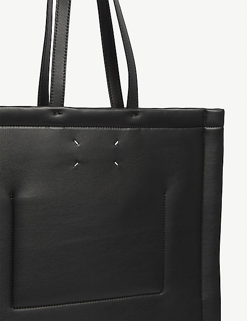 MAISON MARGIELA Four stitch leather tote bag