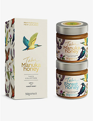HONEY: Forest and Manuka honey set of two