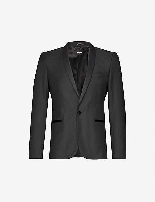 THE KOOPLES Slim-fit wool tuxedo jacket