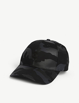 THE KOOPLES SPORT Camouflage-printed cotton baseball cap
