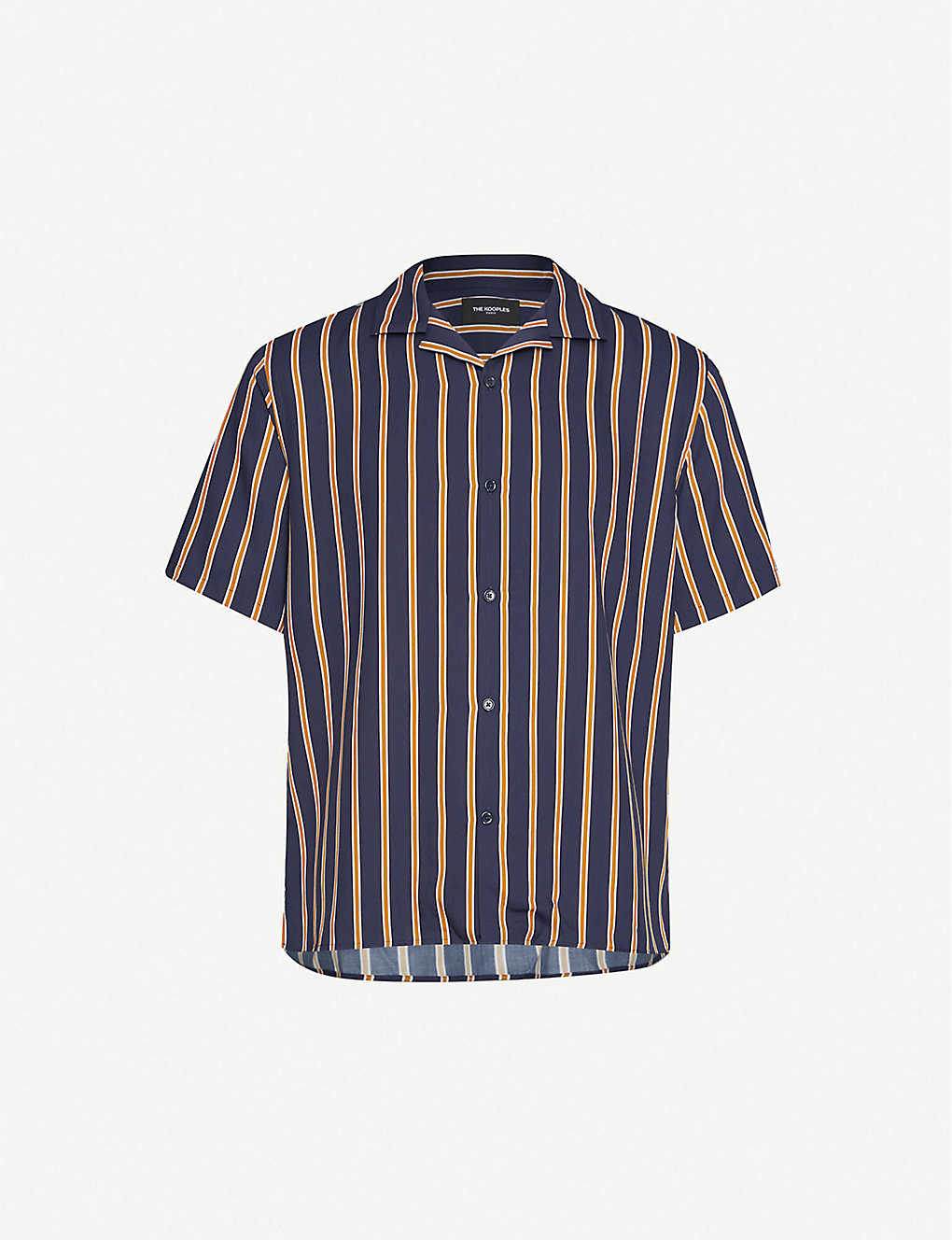 THE KOOPLES: Striped woven shirt
