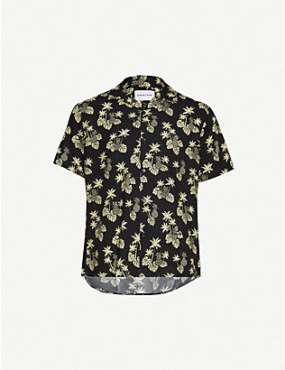 THE KOOPLES SPORT: Floral-print woven shirt