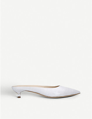 GABRIELA HEARST: Rosendo leather heeled mules