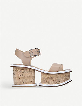 GABRIELA HEARST: Harrigan leather platform sandals