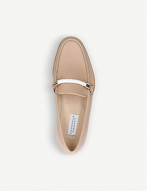 GABRIELA HEARST Renault leather loafers