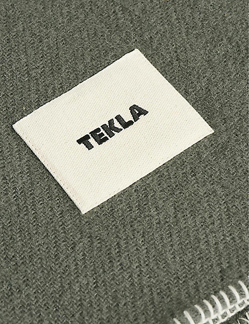 TEKLA Pure new wool blanket 180cm x 130cm