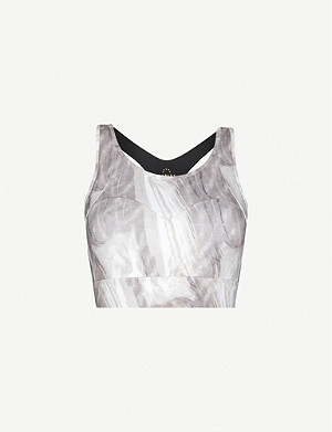 VARLEY Bassett stretch-jersey sports bra