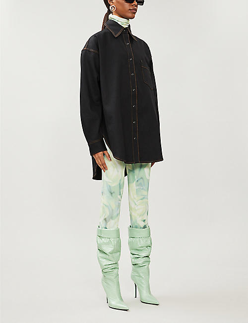 FENTY Oversized denim shirt