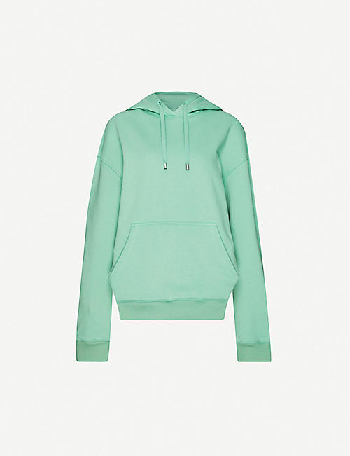 FENTY Cut-out-detail cotton-jersey hoody