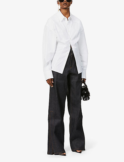 FENTY Oversized cotton shirt