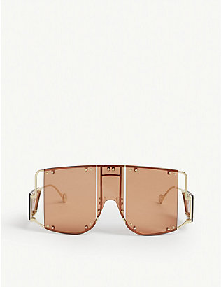 FENTY: Blockt mask sunglasses