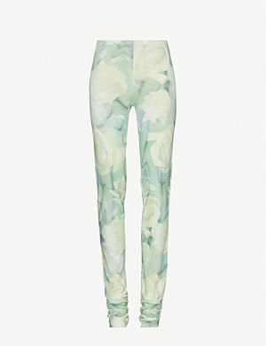 FENTY Floral-print stretch-jersey leggings