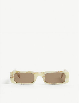 FENTY: Trouble rectangle sunglasses