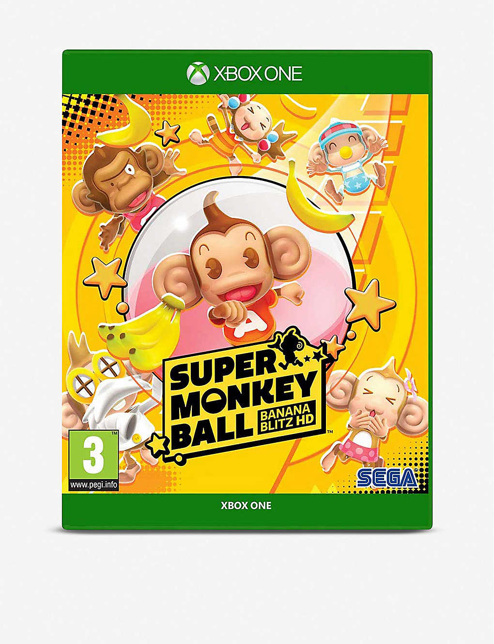 MICROSOFT:Super Monkey Ball Banana Blitz Xbox One 游戏机