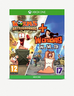 MICROSOFT Worms Battleground and Worms W.M.D Xbox One