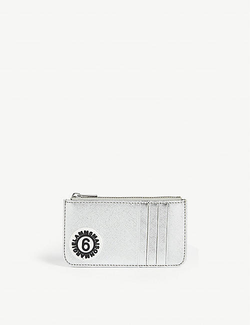 MAISON MARGIELA MM6 metallic card holder