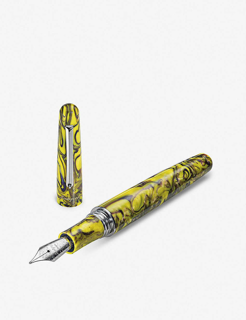 MONTEGRAPPA: Elmo 01 Fantasy Blooms fountain pen