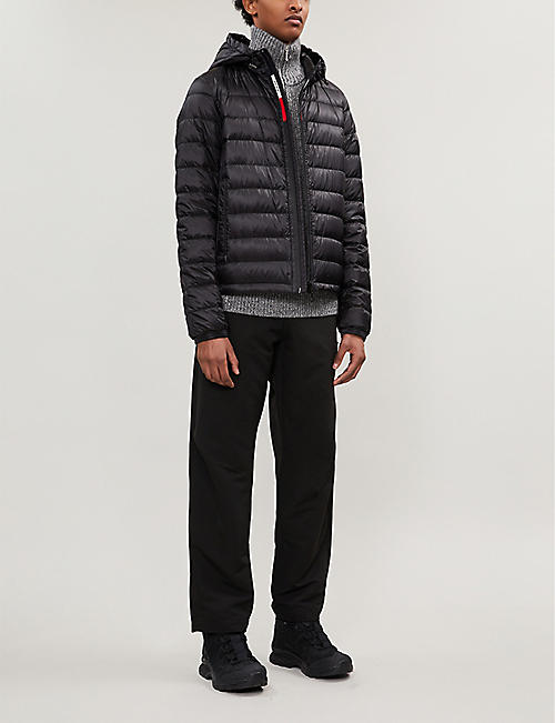 MONCLER Rook hooded shell-down jacket