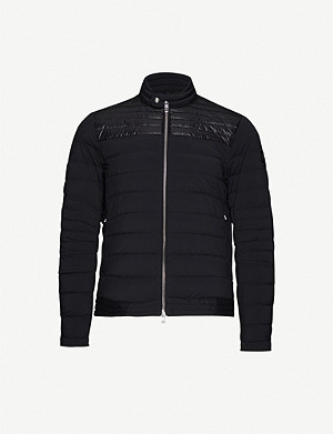 MONCLER Funnel-neck padded shell-down jacket