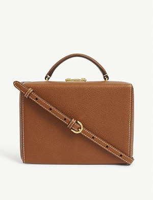 MARK CROSS Grace small leather box bag
