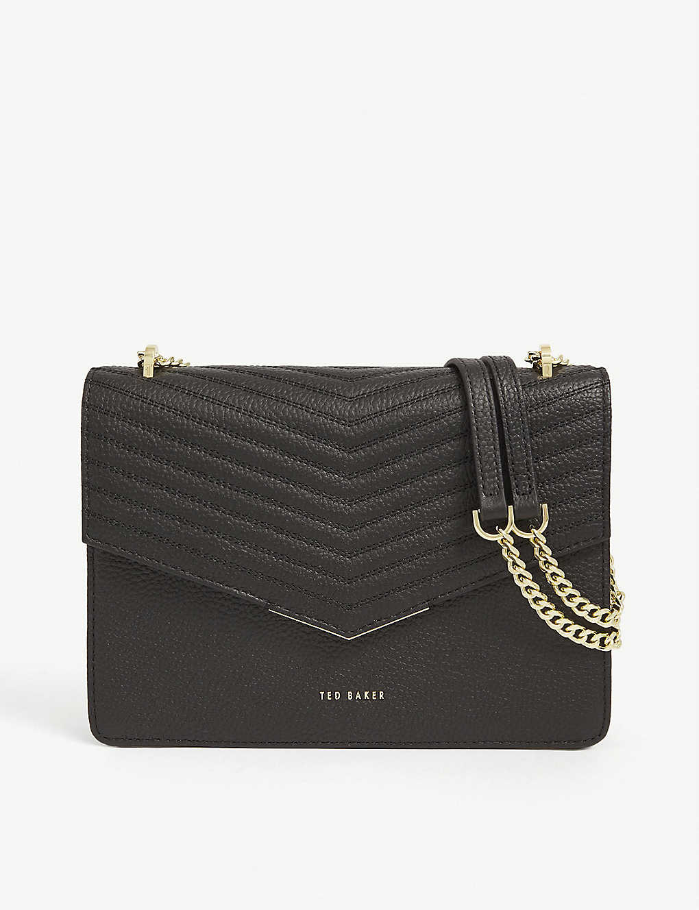 TED BAKER: Beckeey leather cross-body bag